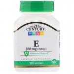 21st Century Vitamin E 400IU 110капс