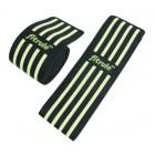 Бинты коленные FitRule черно-зеленый MEDIUM 2 метра