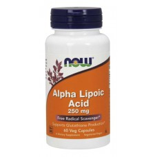 NOW Alpha Lipoic Acid 250мг 60капс