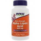 NOW Alpha Lipoic Acid 600мг 60капс