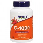 Vitamin C-1000 100таб NOW