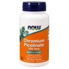 NOW Chromium Picolinate 200мкг 100капс