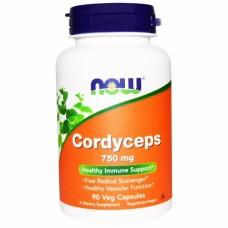 NOW Cordyceps 750mg 90капс