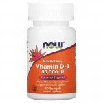 NOW Vitamin D-3 50000IU 50капс