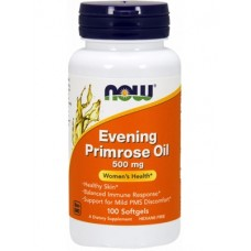NOW Evening Primrose Oil 500mg 100капс