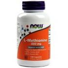 NOW L-Methionine 500мг 100капс