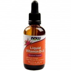 NOW Liquid Vitamin D-3 60 мл