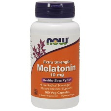 NOW MELATONIN 10mg 100капс