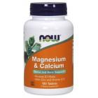 Now Magnesium & Calcium 100таб