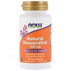 Resveratrol 200mg 60капс NOW