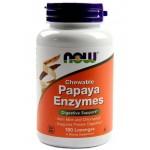 NOW Papaya Enzymes 180таб