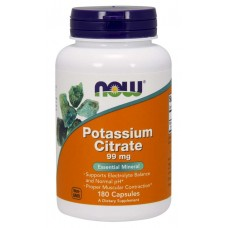 NOW POTASSIUM CITRATE 180капс
