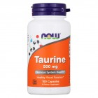 NOW Taurine 500мг 100капс