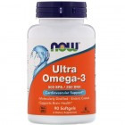 NOW Ultra Omega-3 90капс