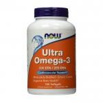 NOW Ultra Omega-3 180капс