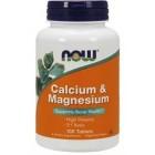 Now Calcium & Magnesium 100таб