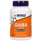 GABA 500mg 100капс NOW