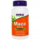NOW MACA 500mg 100капс