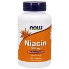 NOW Vitamin B-3 (Niacin) 500мг 100капс