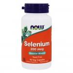 NOW Selenium 200мкг 90капс