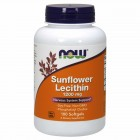 NOW Sunflower Lecithin 1200мг 100капс