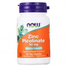 NOW Zinc Picolinate 50мг 60капс
