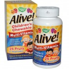 Alive! Children's Multi-Vitamin 120таб
