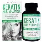 Кератин для увеличения объема волос