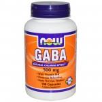 GABA 500mg NOW
