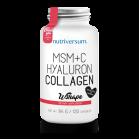 Nutriversum MSM+C Hyaluron Collagen 120капс