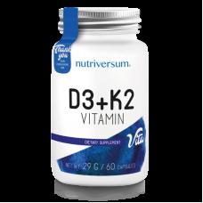 NV Vitamin D3+K2 60капс