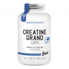 Nutriversum Creatine Grand Caps 120капс