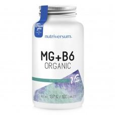 NV Mg+B6 ORGANIC 100таб