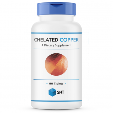 SNT Chelated Copper 2,5мг 90таб