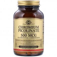 Solgar Chromium Picolinate 500мкг 120капс