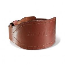 Пояс кожаный с расширением Be First коричневый