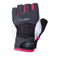 Перчатки Lady Diamond - серый-розовый