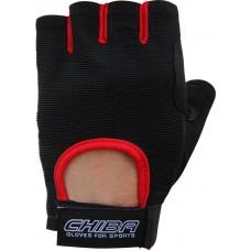 Перчатки Summertime Черный-красный