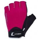 Перчатки Lady Air черно-розовые