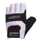 Перчатки Lady Sport  черно-белые