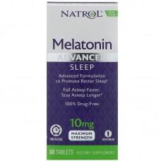 Melatonin TR 10мг 60таб Natrol