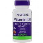 Vitamin D-3 5000IU 90табл Natrol