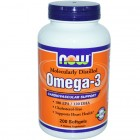 OMEGA-3 NOW 200капс