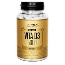 Vitamin D-3 5000IU 120капс OptiMeal