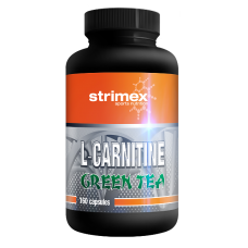 L-CARNITINE + GREEN TEA CAPS 160капс